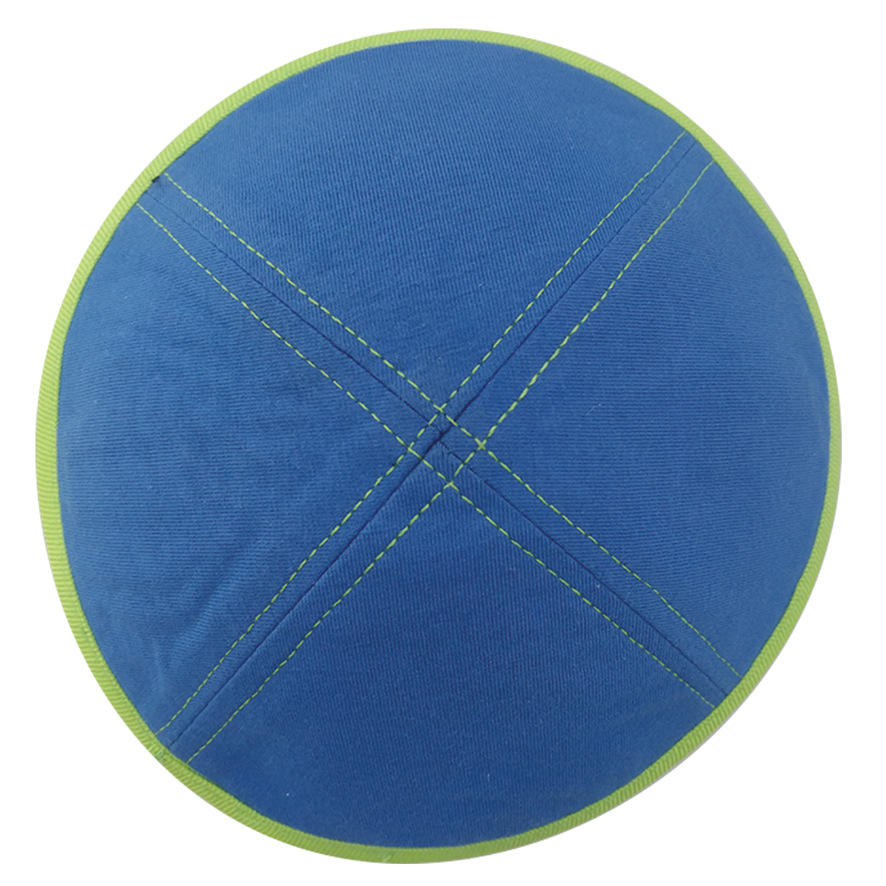 Royal & Lime Green T-Shirt Kippahs & Yarmulkes | Klipped Kippahs