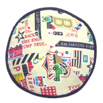 Cars N Trucks Kippah with Clip | Kippahs & Yarmulkes | Klipped Kippahs