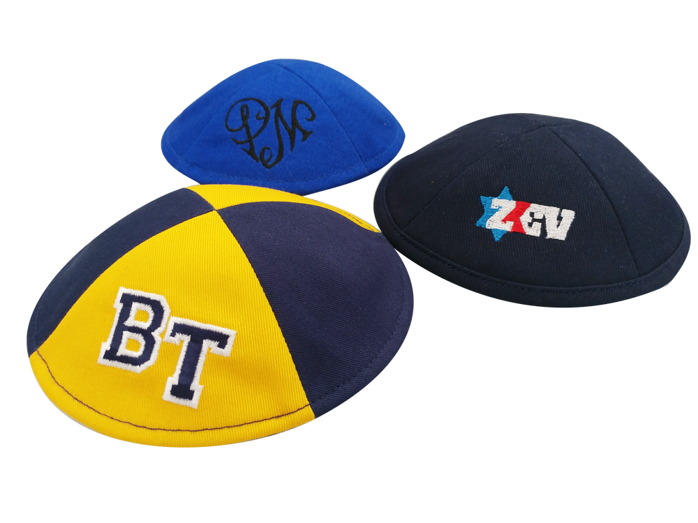 Custom Cotton Kippah