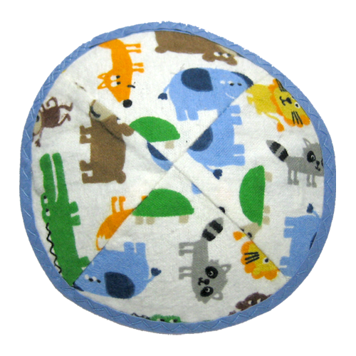 Funny Animals Kippah with Clip | Kippahs & Yarmulkes | Klipped Kippahs