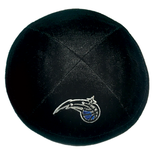 Orlando Magic Kippah with Clip | Kippahs & Yarmulkes | Klipped Kippahs