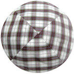 Red Plaid Kippah | Kippahs & Yarmulkes | Klipped Kippahs