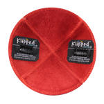 Inside Red Suede Kippah with Clips | Kippahs & Yarmulkes | Klipped Kippahs