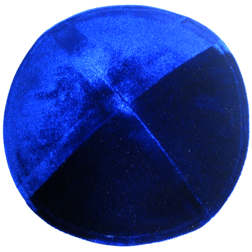 Crushed Velvet Royal Blue