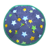 Starry Night Kippah with Clips | Kippahs & Yarmulkes | Klipped Kippahs