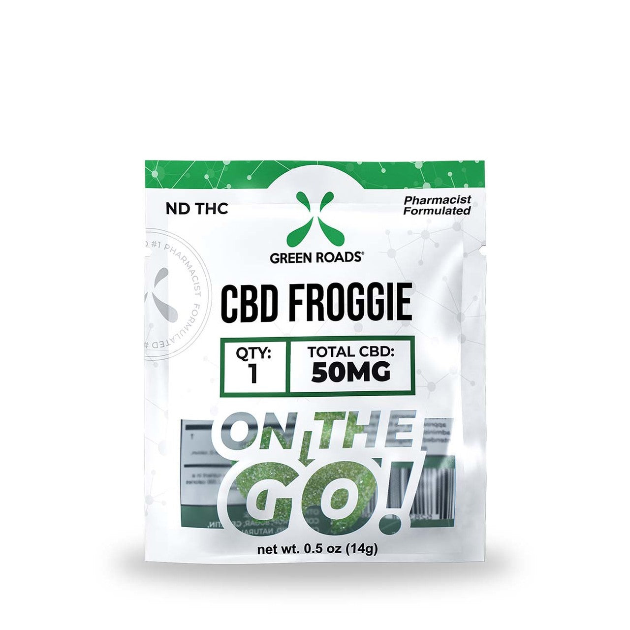 CBD Travel Pack - Froggies 50mg