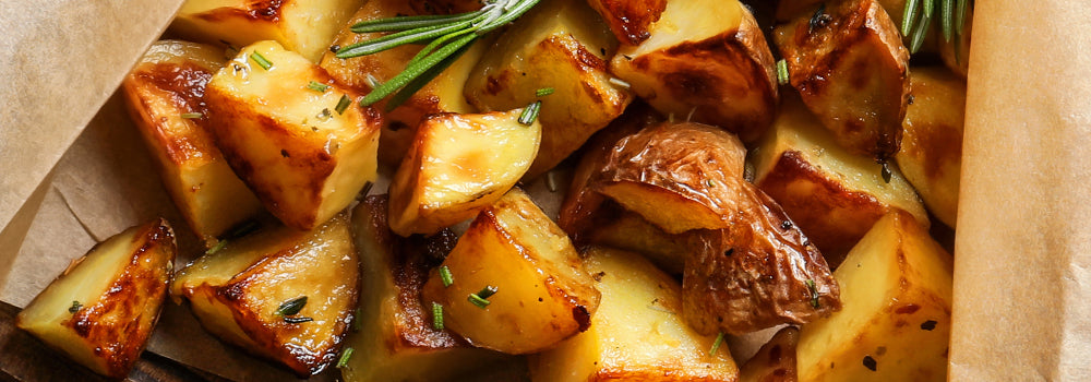Garlic Rosemary Potatoes