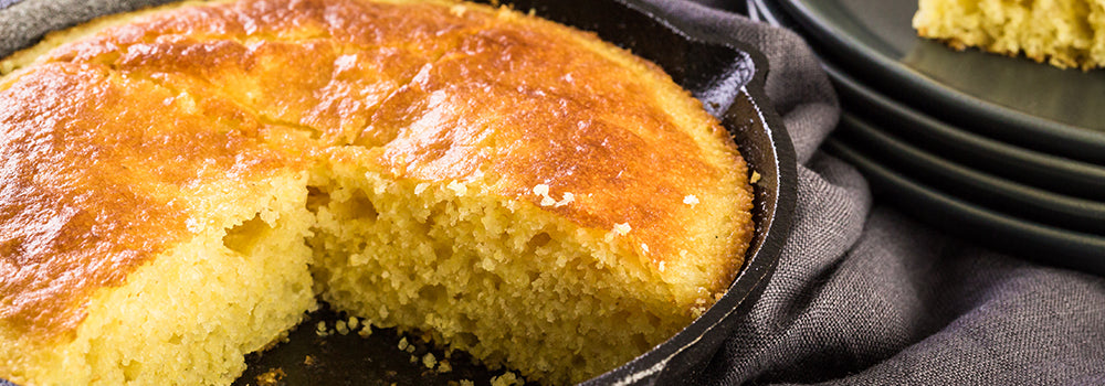 Hot Water Cornbread