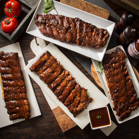 Bubba's Boneless BBQ Baby Back Ribs, Full Racks