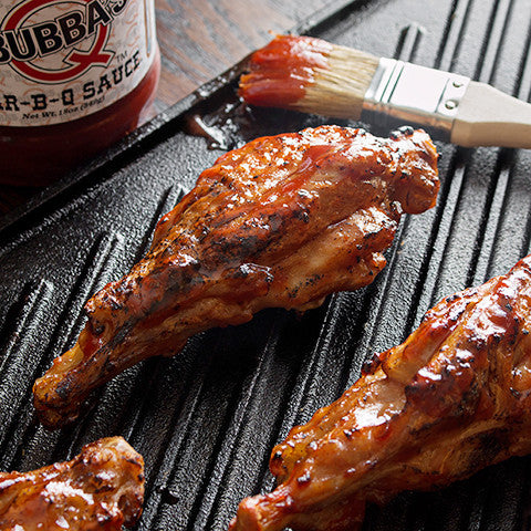 Fully Cooked Turkey Wings (5 lbs.) with Original BBQ Sauce