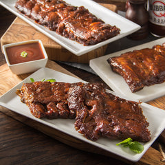 Bubba's Boneless BBQ Baby Back Ribs, Half Racks