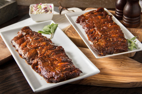 Bubba's Boneless Honey BBQ Baby Back Ribs, Full Racks