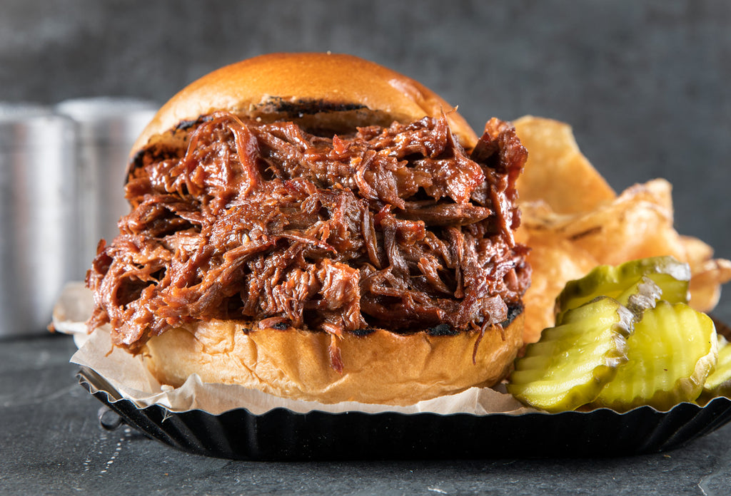 Fully Cooked BBQ Pulled Beef
