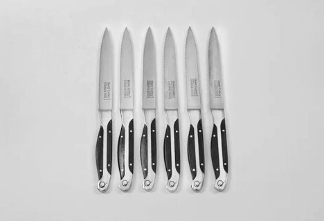 Quest Cutlery - 6 Piece Steak Knife Set