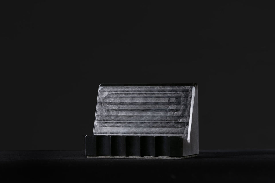 black business card holders