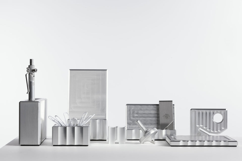 luxury silver desk accessory sets