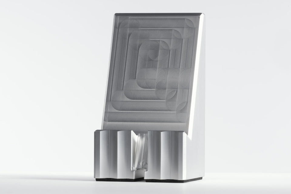 silver phone stand
