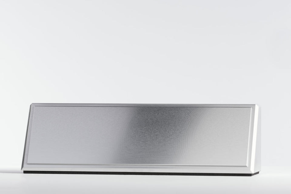 Nameplate - Camber - Silver