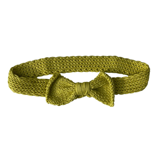 Butterfly Apple Green Hair Band Baboo Saç Bandı