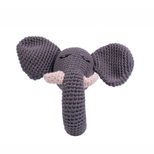 Elphy Grey Rattle Baboo Çıngırağı