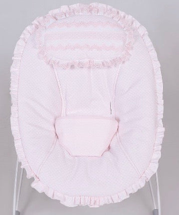 Lenon Pink Spanish Baby Bouncer