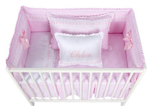 Load image into Gallery viewer, Pink Artenas Cot Bed 140cm x 70cm