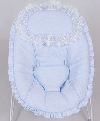 River Blue Spanish Baby Bouncer
