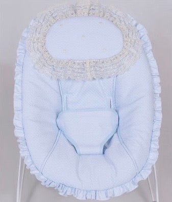 Norwich Blue Spanish Baby Bouncer