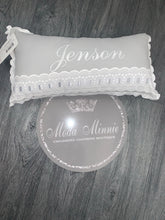 Load image into Gallery viewer, Grey Artenas Spanish Pillow