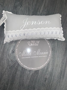 Grey Artenas Spanish Pillow