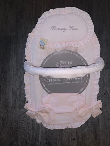 Pink Spanish Baby Bouncer