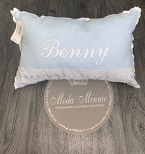 Load image into Gallery viewer, Blue Artenas Spanish Pillow 35x55cm