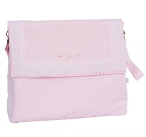 Carla material lid changing bag