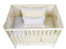 Load image into Gallery viewer, Camel Artenas Cot Bed 140cm x 70cm