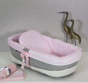 Pink Artenas Carrycot Liner