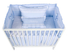 Load image into Gallery viewer, Grey Artenas Cot Bed 140cm x 70cm
