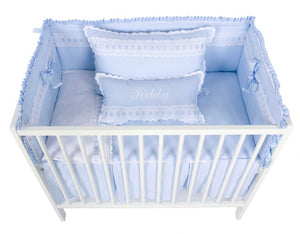 Grey Artenas Cot Bed 140cm x 70cm