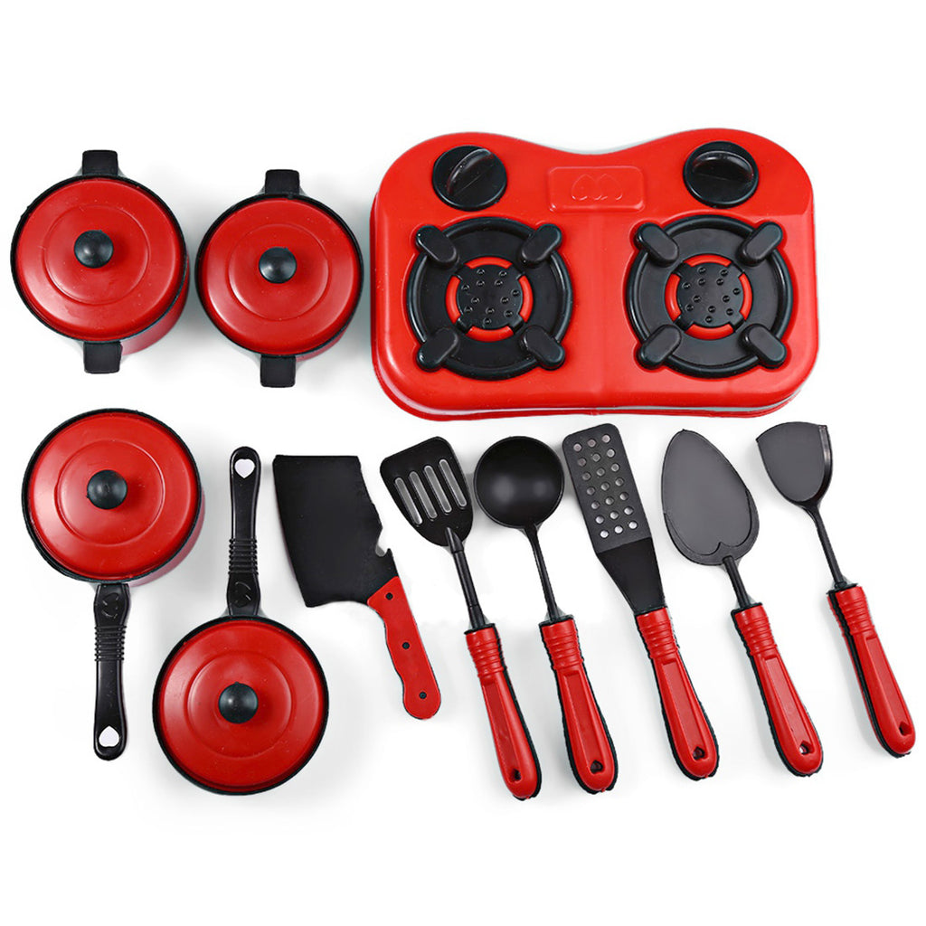 11pcs Mini Kitchen Cooking Toys Kitchen Appliance