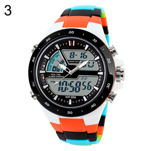 Men Waterproof Chronograph Wrist Watch