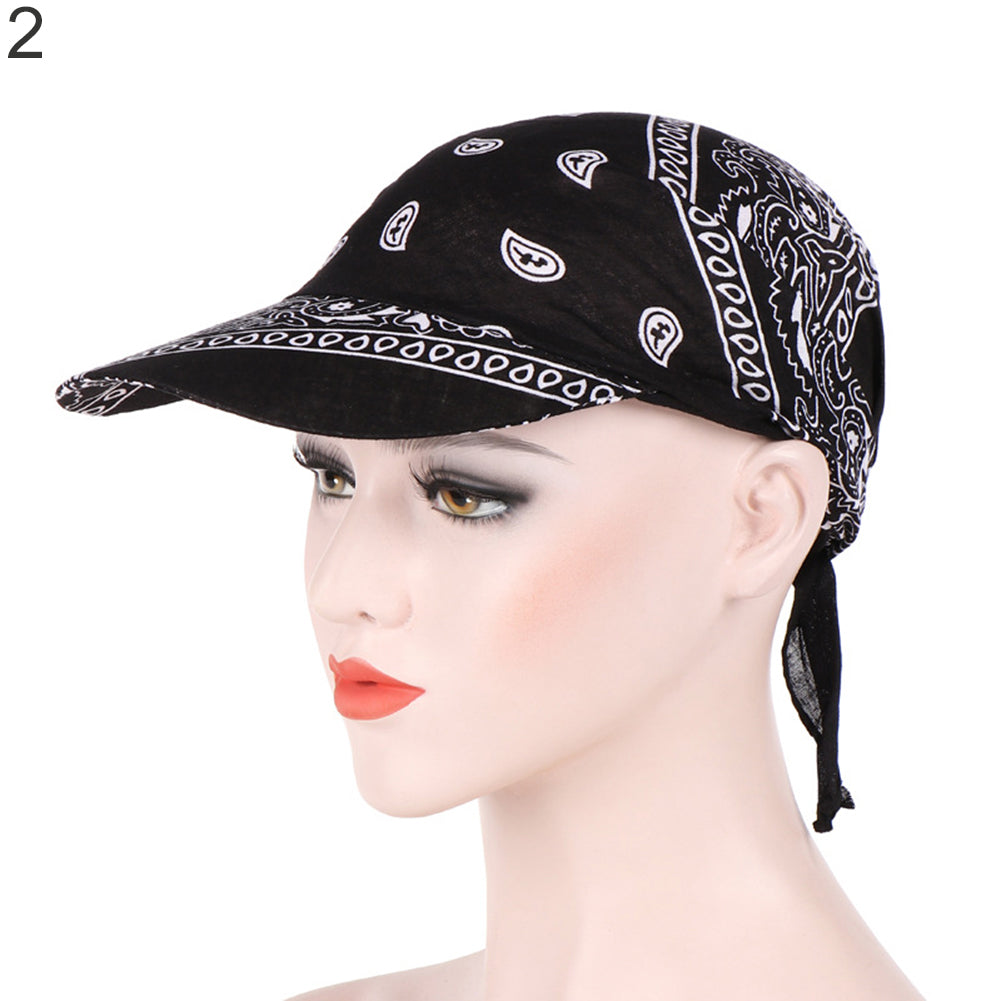 Creative Fashion Printed Women's Summer Sun Cap Cloth Kerchief Headscarf Hat