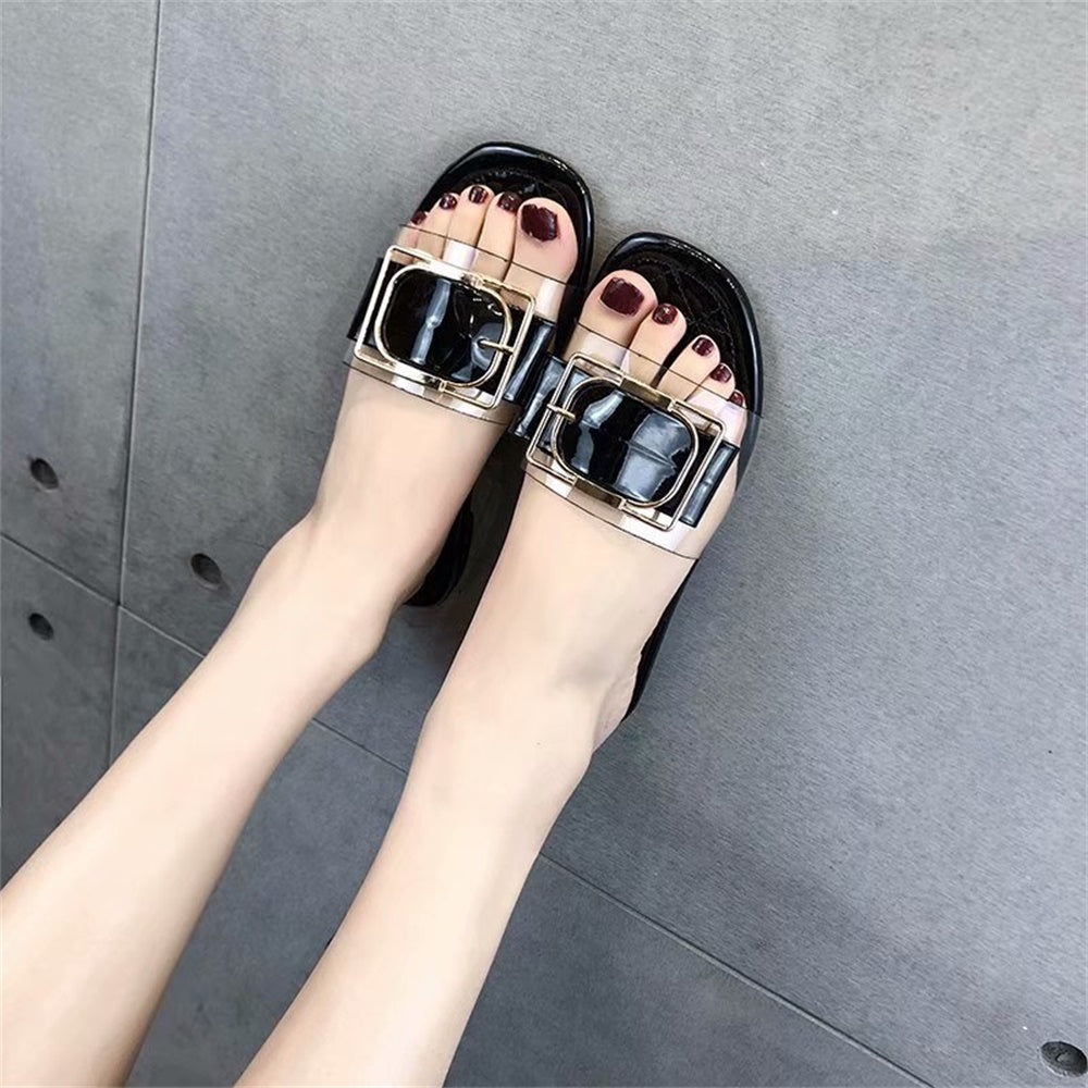 Transparent Slippers