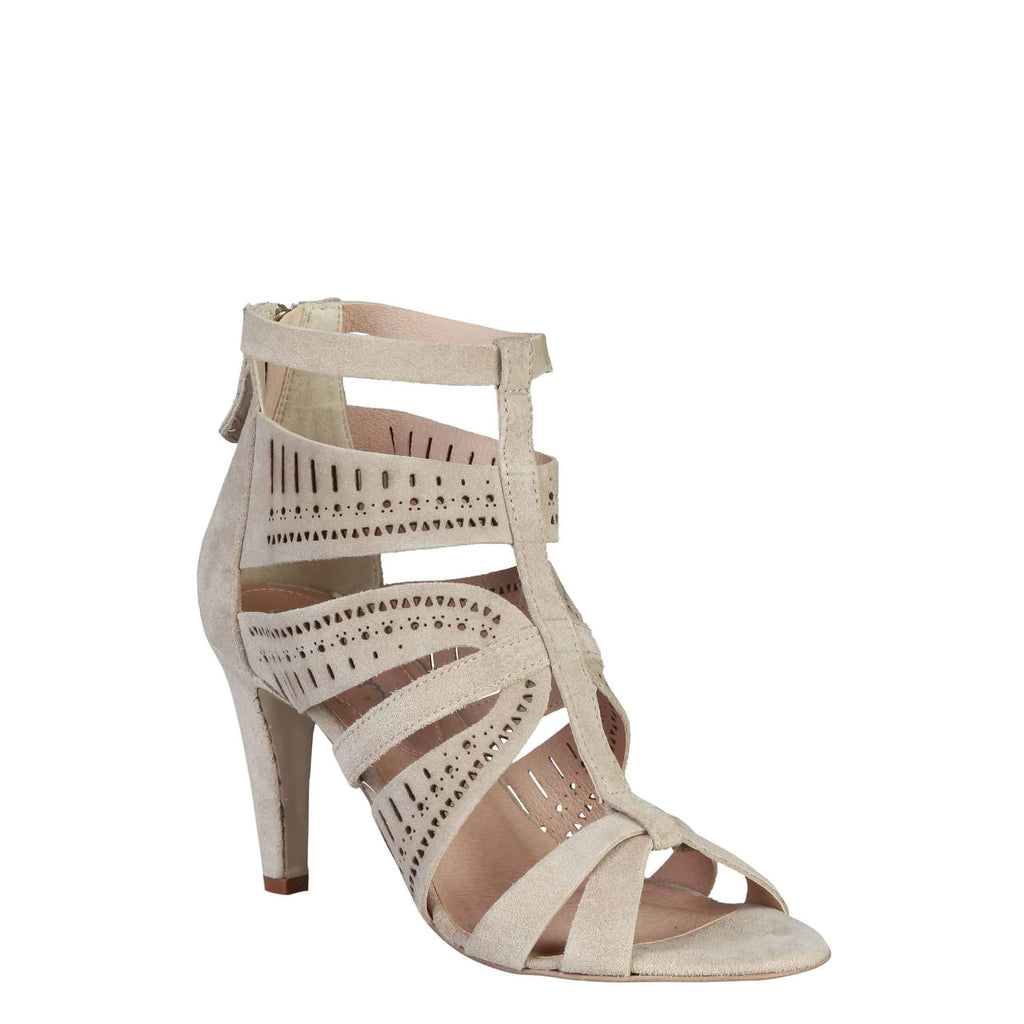 Pierre Cardin Leather Sandal - AXELLE - Brown