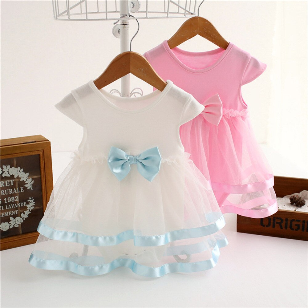 Newborn Onesie with Tulle Dress