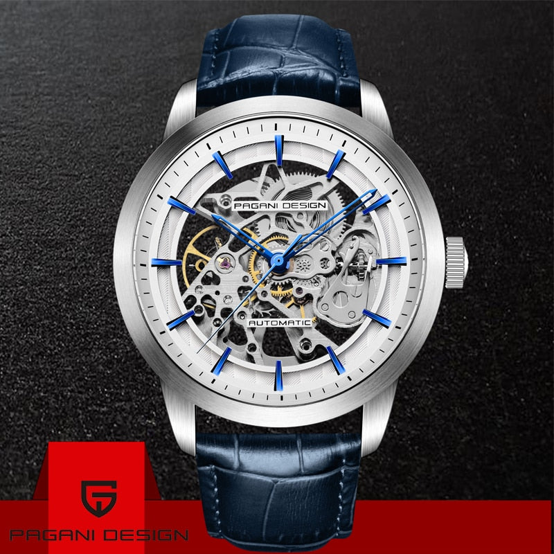 PAGANI DESIGN  Automatic Skeleton Watch