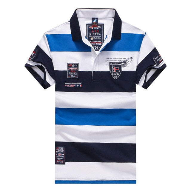 Tace & Shark Cotton Polo Shirt
