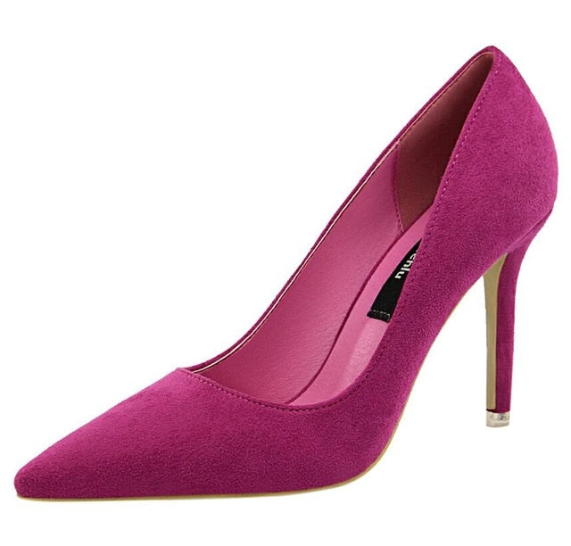 D&Henlu Purple Shoe