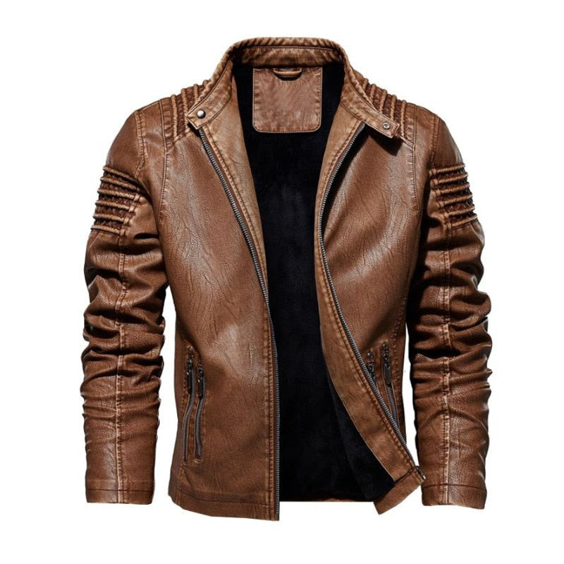 High Quality Faux Leather Jacket