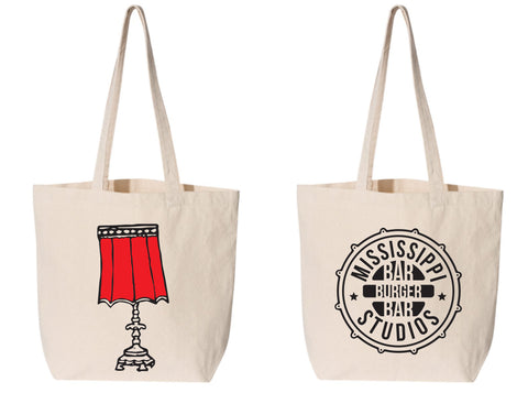 Mississippi Studios Lamp Tote *Preorder item ships December 17th