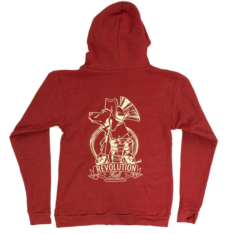 Revolution Hall Red Hoodie