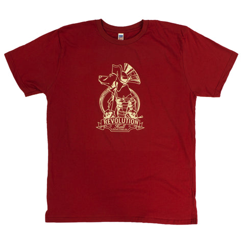 Revolution Hall Red T-Shirt
